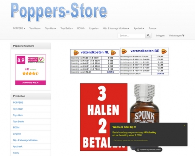 Poppers-store.nl